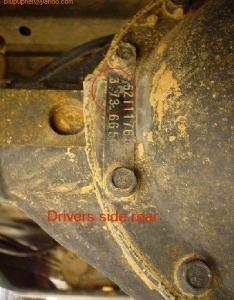 View attachment also how do  determine my axle gear ratio jeep wrangler tj forum rh wranglertjforum