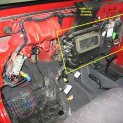 98 Jeep Tj Wiring Diagram Chevy Hei Ignition How To Replace The Heater Core On A Wrangler | Forum