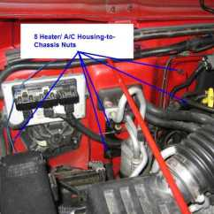 2002 Jeep Wrangler Ac Wiring Diagram Nissan 3 Timing Belt 2010 Heater Free For You How To Replace The Core On A Tj Rh Wranglertjforum Com Basic Furnace Fuse Block 89 K2500