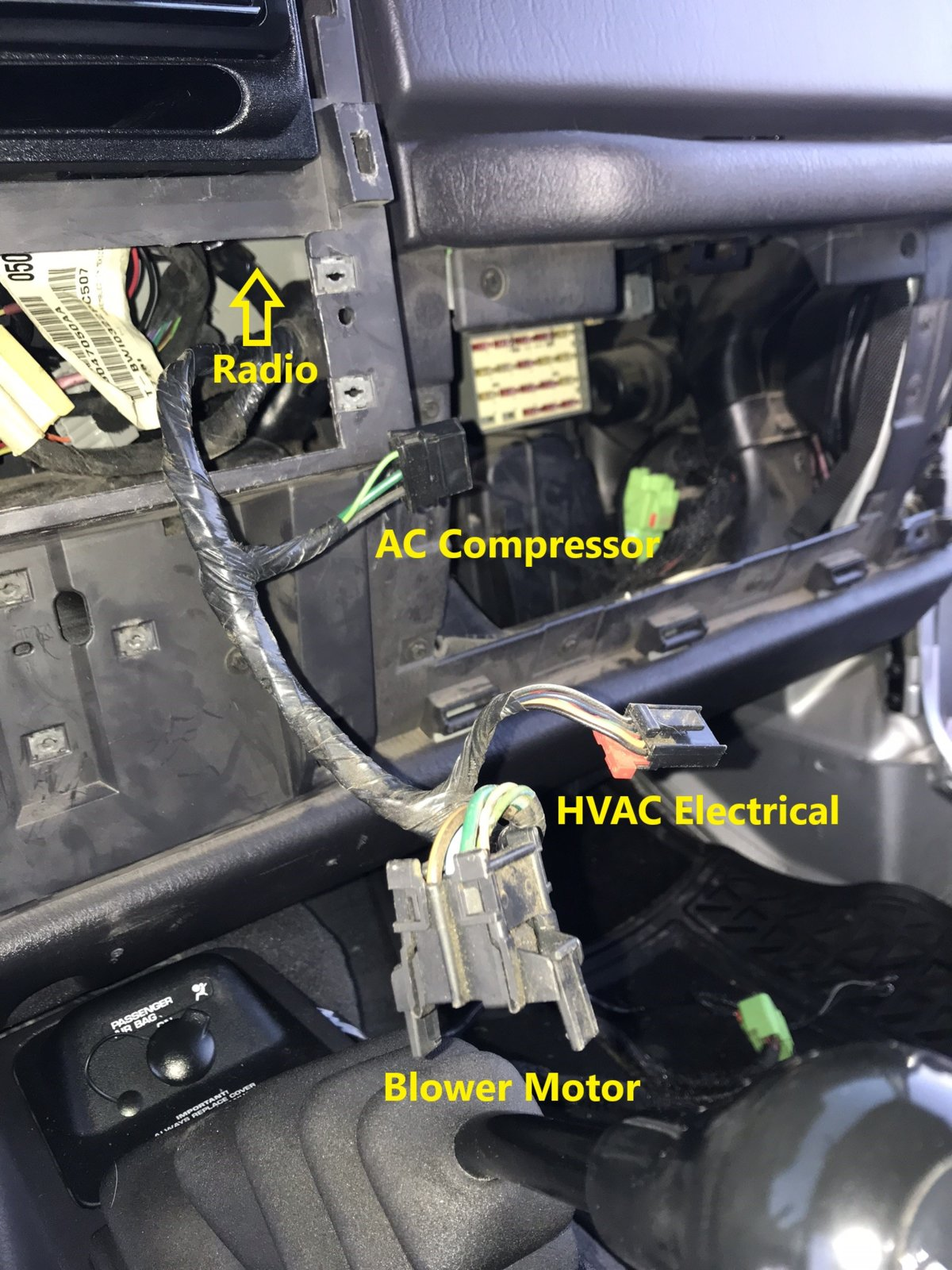 hight resolution of  wrangler rear wiper wiring diagram on how to factory wire your tj for a hardtop part 1 dash harness