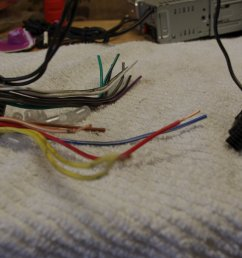 did not need to connect the speaker wires to the head unit i only needed to connect the ground 12 volt switched 12 volt constant and dimmer control  [ 1600 x 1063 Pixel ]