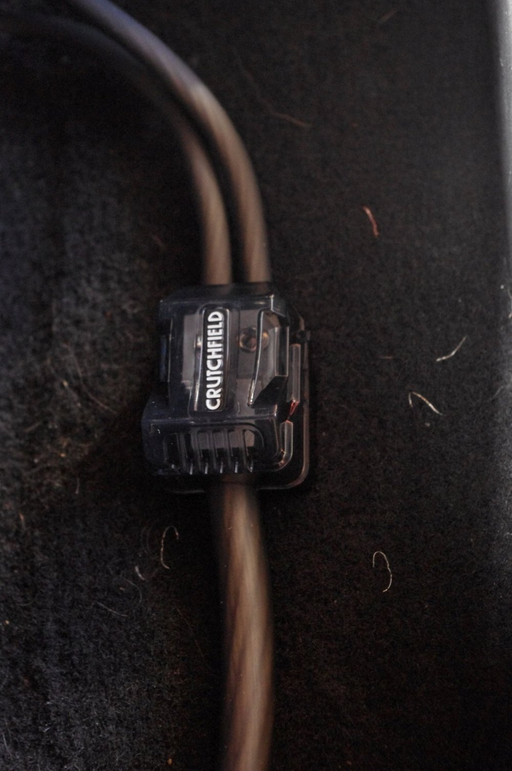 medium resolution of the rca cables and speaker wires were neatly zip tied togetherand then ran to each amp