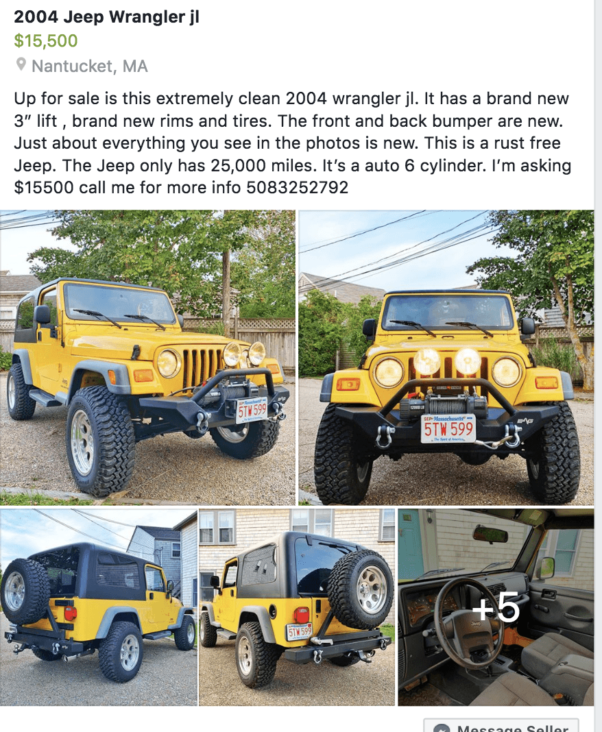 Lifted Jeeps For Sale Craigslist : lifted, jeeps, craigslist, Jeep:, Lifted, Jeeps, Craigslist