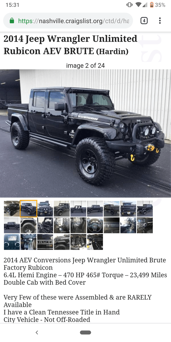 Jeep With Bed : What?, Surely, Factory, Wrangler, Forum