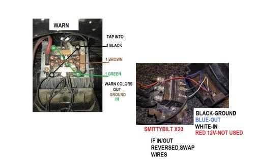 small resolution of  5 pin winch controller in cab wiring jeep wrangler tj forum warn winch control