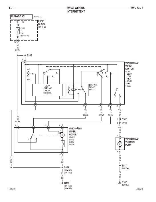wiper switch wiring diagram 3