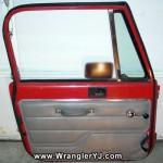 Wrangler YJ SE Full Steel Door