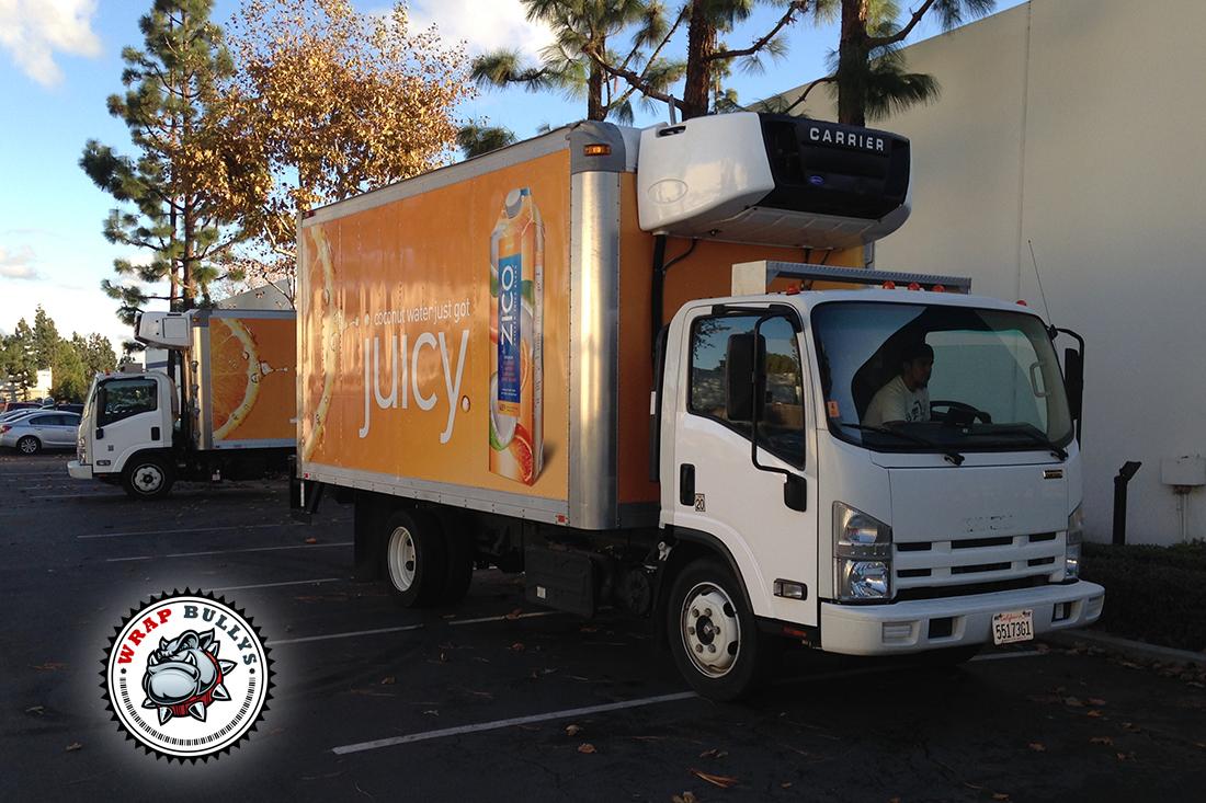 Custom Box Truck Wrap | Graphic Wraps