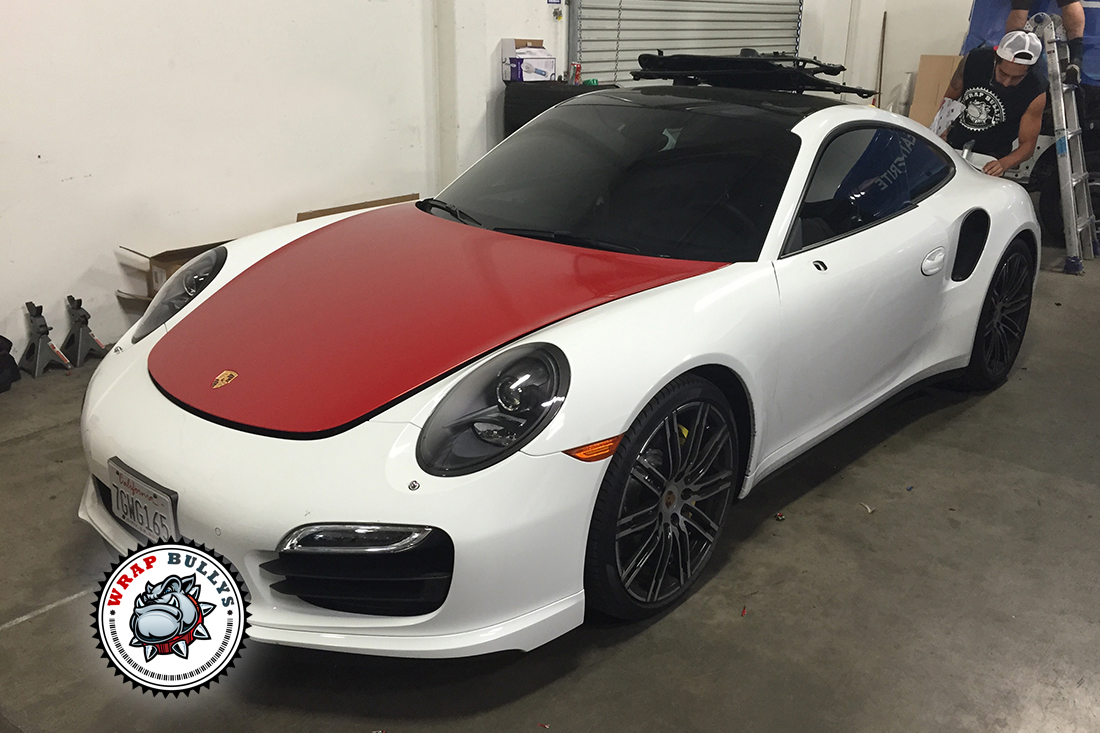 Porsche 911 Turbo Car Wrap