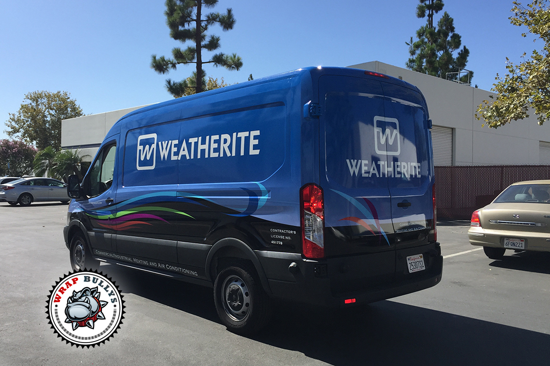 Weatherite Ford Connect Van Wrap | Vehicle Wrap