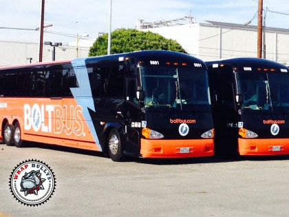 Los Angeles Public Transportation Bus Wraps
