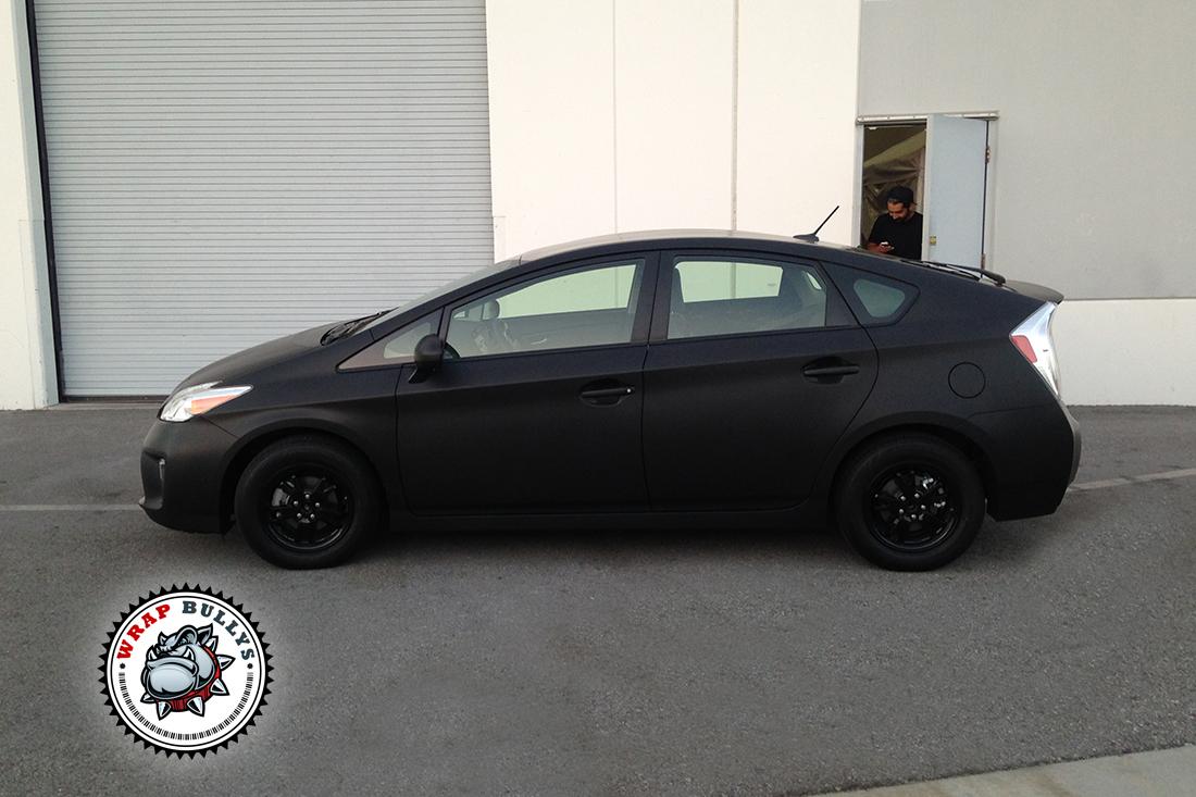 Deep Matte Black Prius (7)
