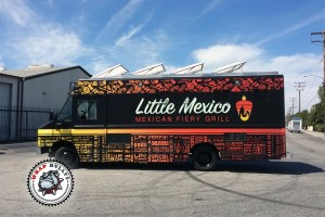 Custom Food Truck Wraps. Call Today For Pricing.
