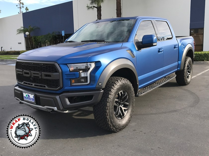 Ford Raptor Wrapped in Xpel Stealth Paint Protection