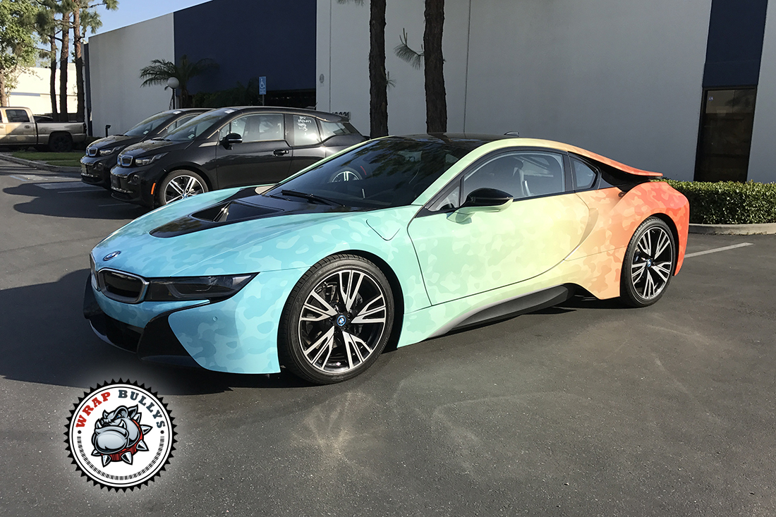 Road To Coachella Bmw I8 Car Wrap Wrap Bullys