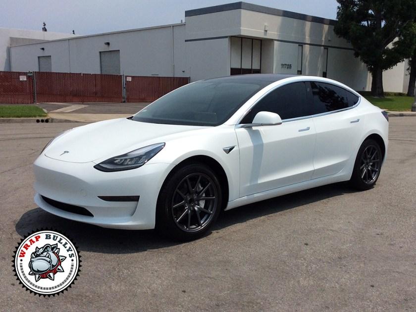 Tesla 3 Matte Clear Bra Paint Protection