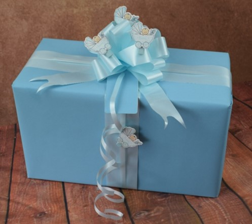 baby gift wrapping ideas