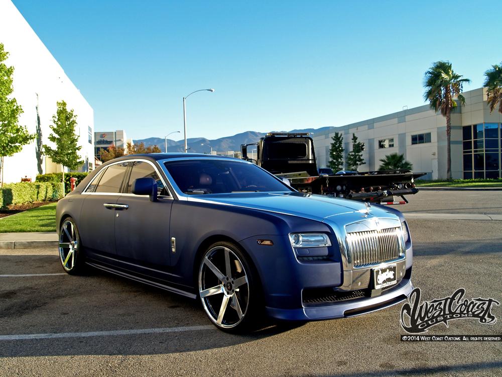 Ryan Friedlinghaus Rolls Royce Ghost Wrapfolio