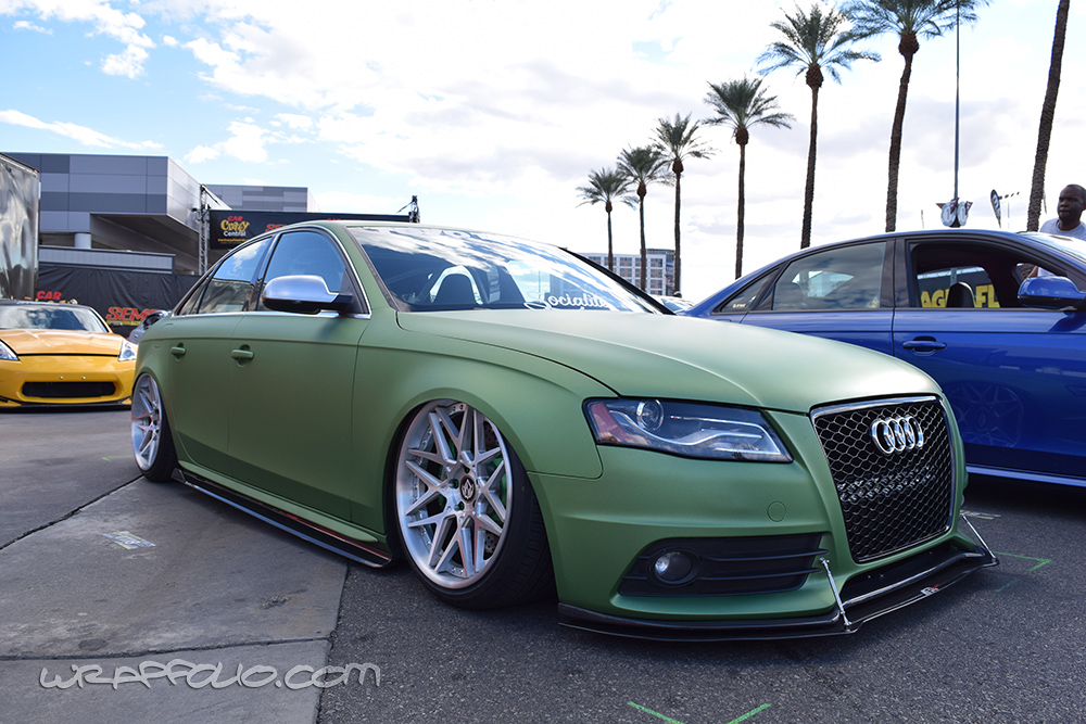 Green Apple Matte Metallic S4 Wrap Wrapfolio