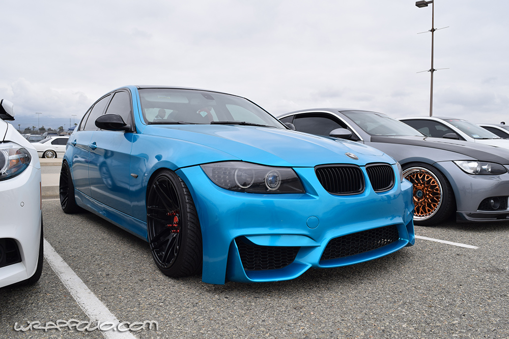 Atomic Teal Bmw Wrap Wrapfolio