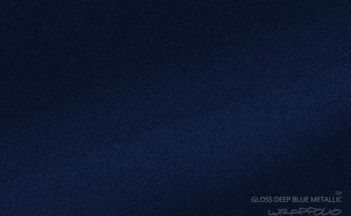 3m Gloss Deep Blue Metallic Wrapfolio
