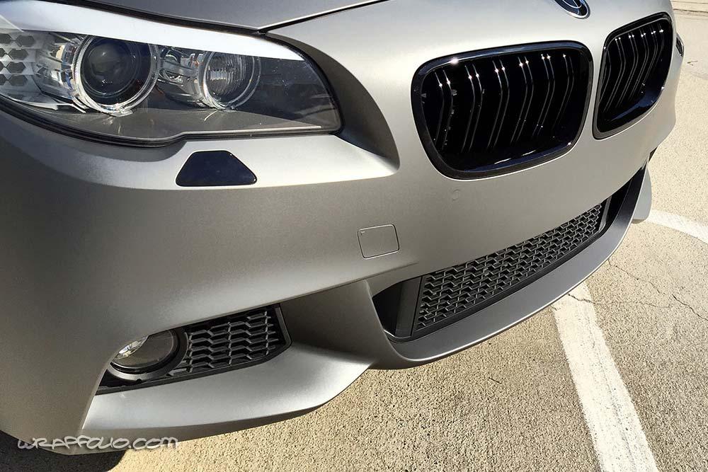 Jeep Huntington Beach >> Matte Metallic Gunmetal 5 Series Wrap | Wrapfolio