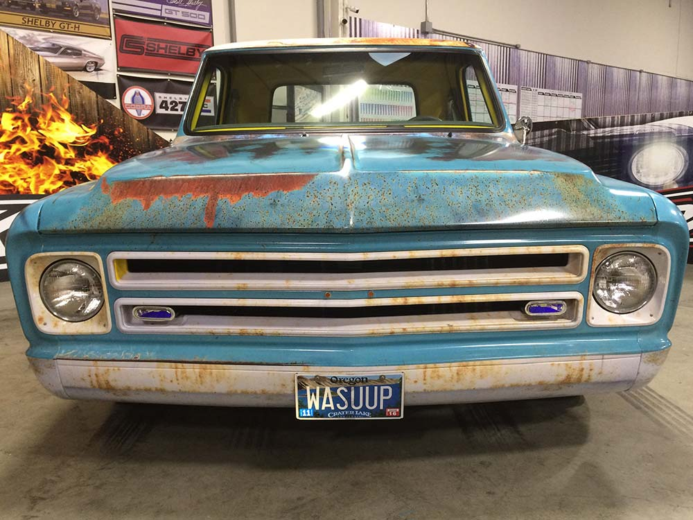 Patina 67 C10 Rust Wrap Wrapfolio