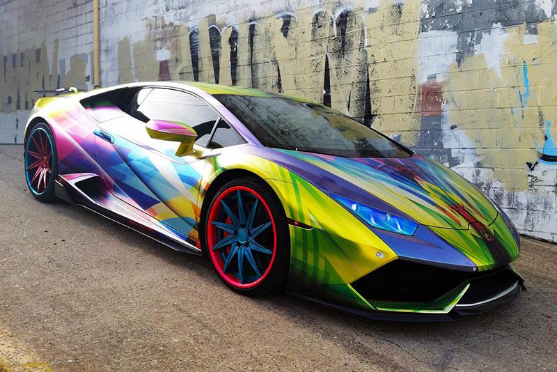 Hurricane Lamborghini >> Psycho Hurricane | Wrapfolio