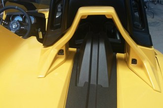 Bright Yellow Slingshot Wrap