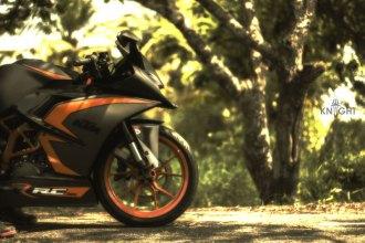 KTM RC 390 Motorcycle Wrap