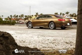 APA Prestige Brown Wrap