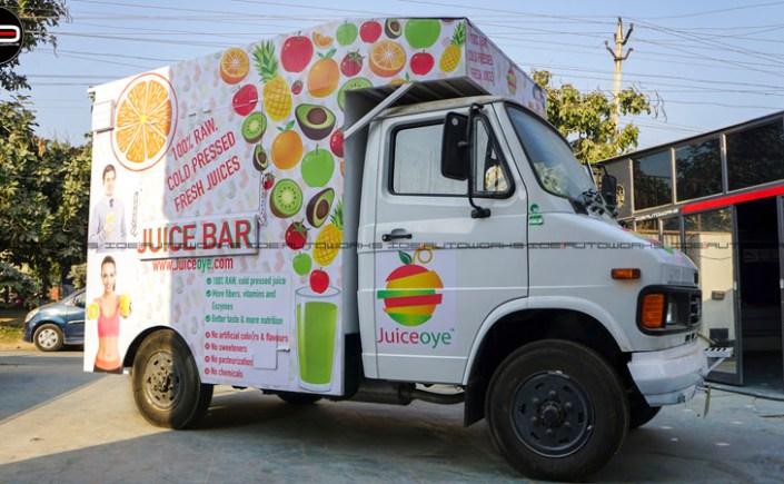 Juice Truck Wrap
