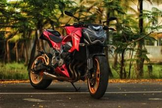 Kawasaki Z800 Motorcycle Wrap