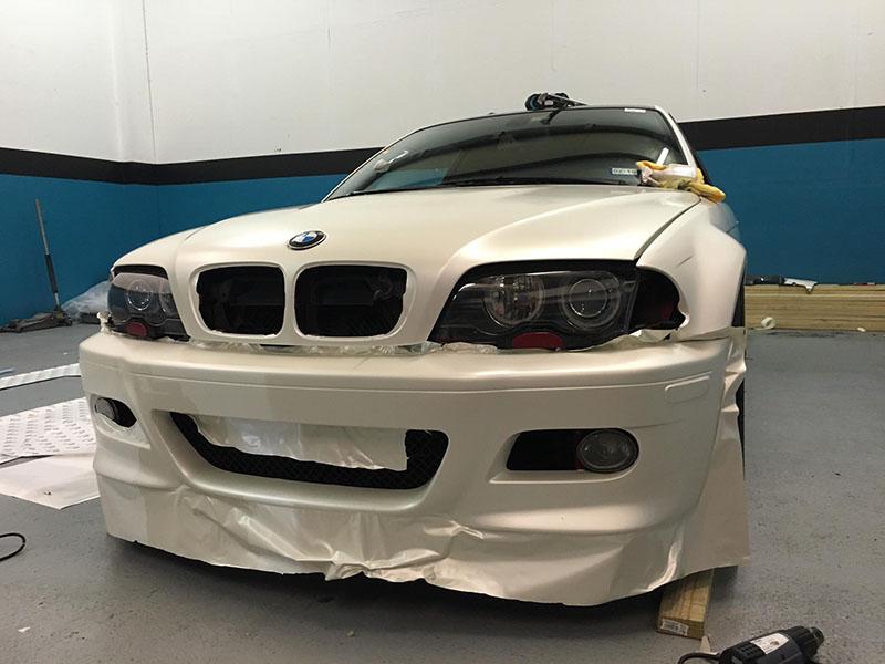 Satin Pearl White E46 M3 Wrap Wrapfolio