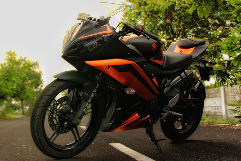 Yamaha R15 Motorcycle Wrap Wrapfolio