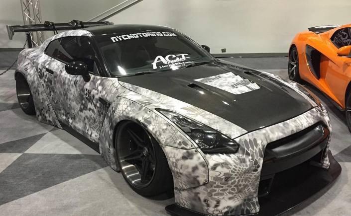 GTR Camo Wrap