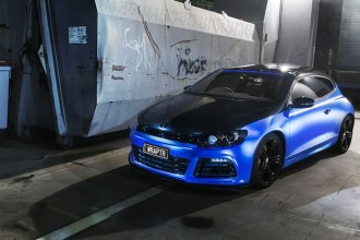 APA Satin Blue Chrome Scirocco Wrap