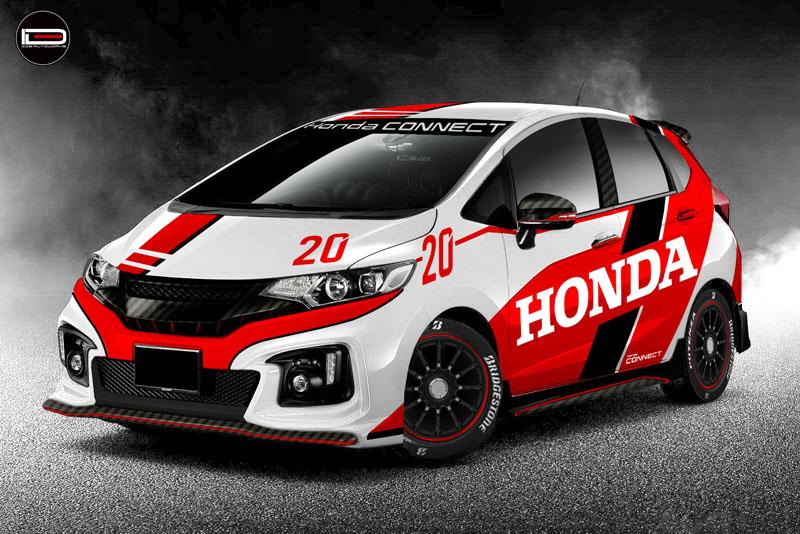 Honda Jazz RS Concept wrap