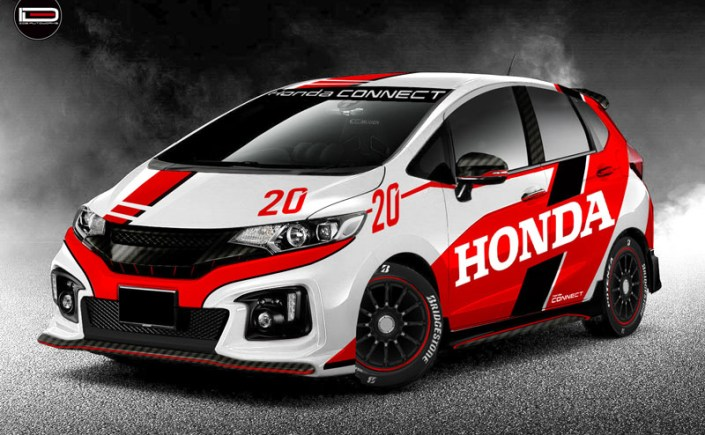 Honda Jazz RS Concept wrap