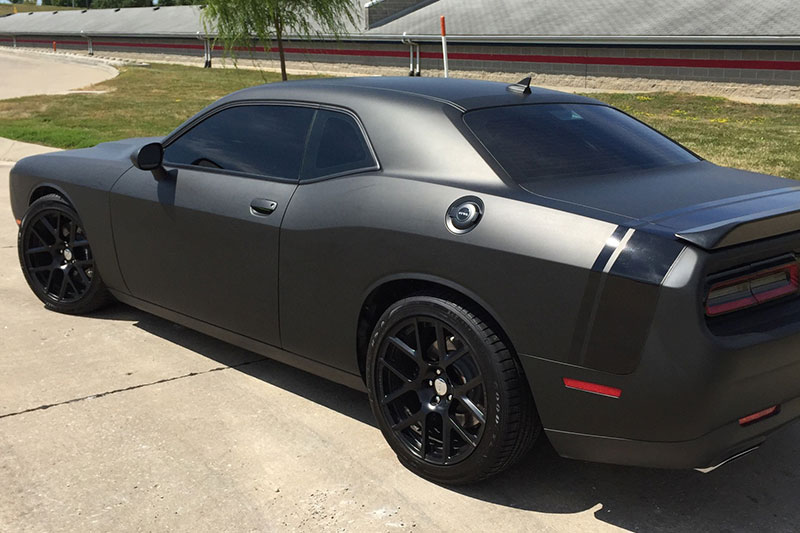 Matte Black Dodge Charger