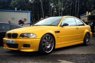 Arlon Heatwave e46 M3 Wrap
