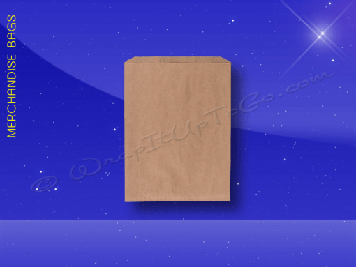 Merchandise-Bags—Natural-Kraft—3×5