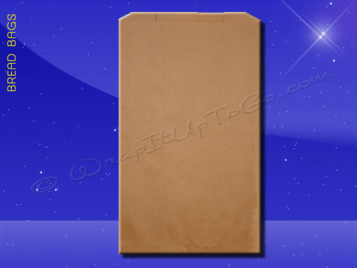 Bread Bags – 8-1/2 x 4-1/2 x 14 – Natural Kraft (brown) – Plain (no print) 1