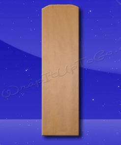 Bread Bags – 5-1/4 x 3-1/4 x 18 – Natural Kraft (brown) – Plain (no print) 1