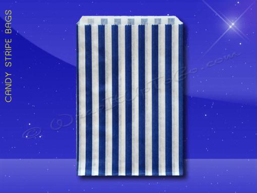 Candy Stripe Bags 5 x 7 – Blue Stripes 1