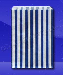 Candy Stripe Bags 5 x 7 – Blue Stripes 1
