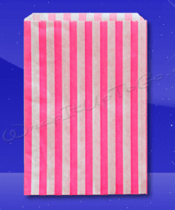 Candy Stripe Bags 7 x 9 – Pink Stripes 1