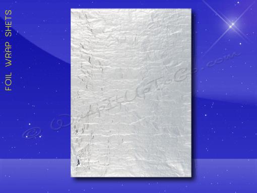 Foil Wrap Sheets – 9 x 12 – Plain 1