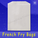 Fischer Paper Products 609 French Fry Bags 4-3/4 x 3/4 x 5-3/4