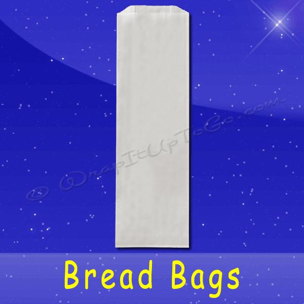 Fischer Paper Products BB-18 Bread Bags 5 x 3 x 18 Plain